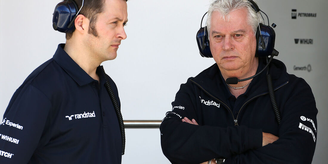 Pat Symonds - Williams - Formel 1 - Bahrain - Test - 21. Februar 2014