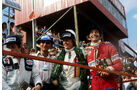 Patrick Depailler - Tyrrell - Ronnie Peterson - Lotus - John Watson - Brabham - GP Südafrika 1978 - Kyalami