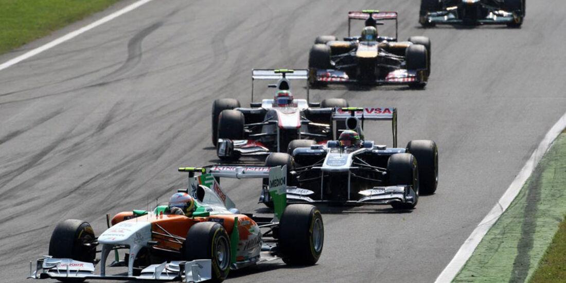 Paul Di Resta GP Italien Monza 2011