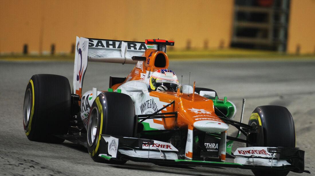 Paul di Resta F1 Singapur 2012