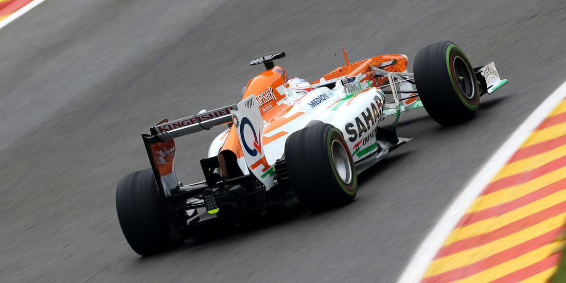 Paul di Resta - Force India - Formel 1 - GP Belgien - Spa Francorchamps - 23. August 2013