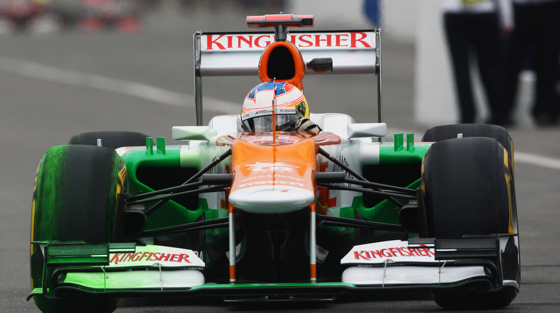 Paul di Resta - Force India - Formel 1 - GP Kanada 2012 - 8. Juni 2012
