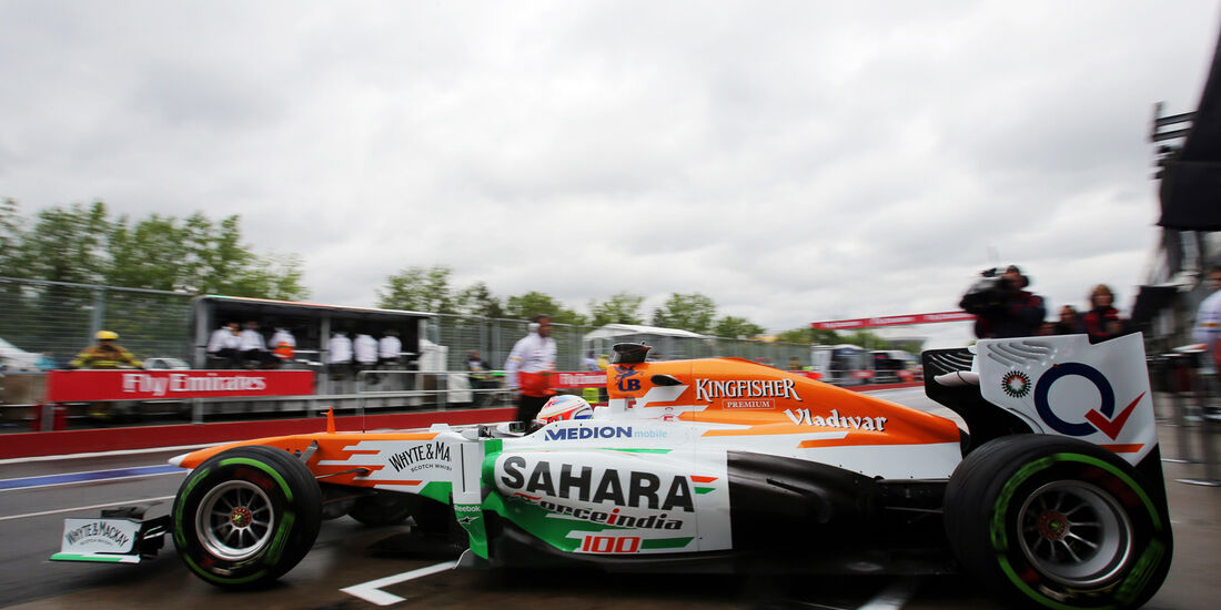 Paul di Resta - Force India - Formel 1 - GP Kanada - 7. Juni 2013