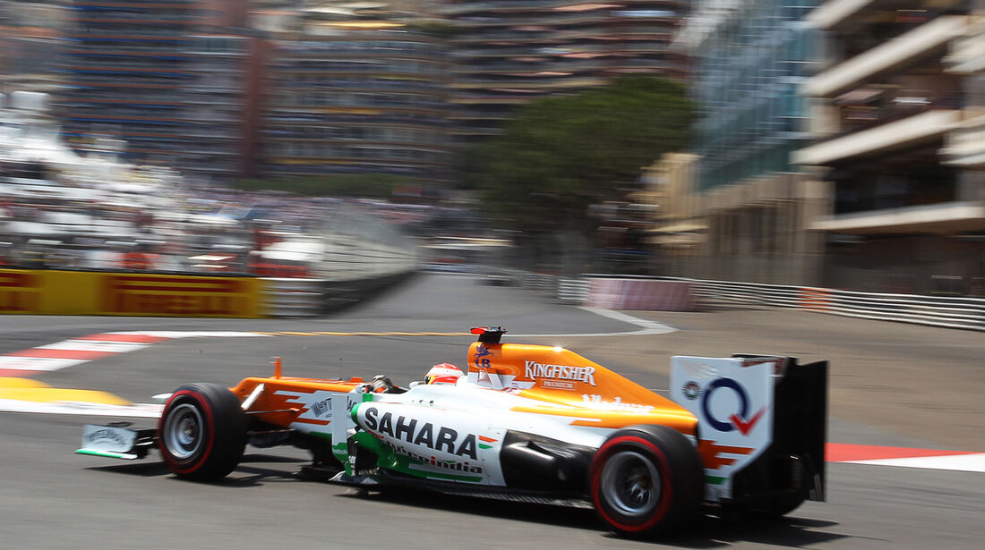 Paul di Resta - Force India - Formel 1 - GP Monaco - 26. Mai 2012