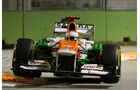 Paul di Resta - Force India - Formel 1 - GP Singapur - 22. September 2012