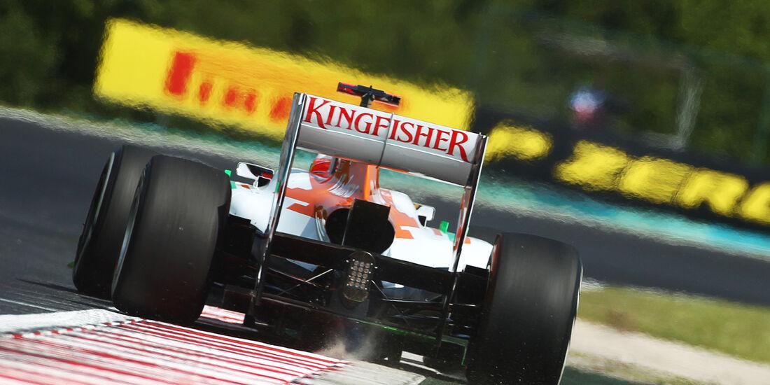 Paul di Resta - Force India - Formel 1 - GP Ungarn - Budapest - 27. Juli 2012