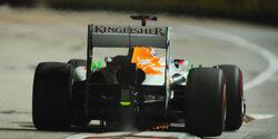 Paul di Resta - Force India - GP Singapur