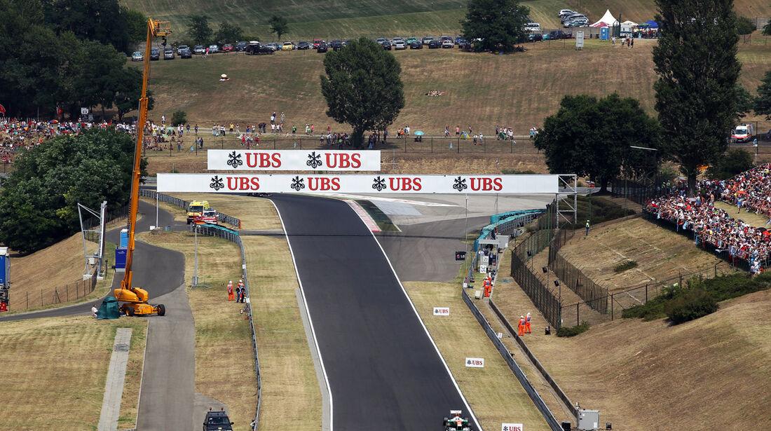 Paul di Resta - Formel 1 - GP Ungarn - 27. Juli 2013