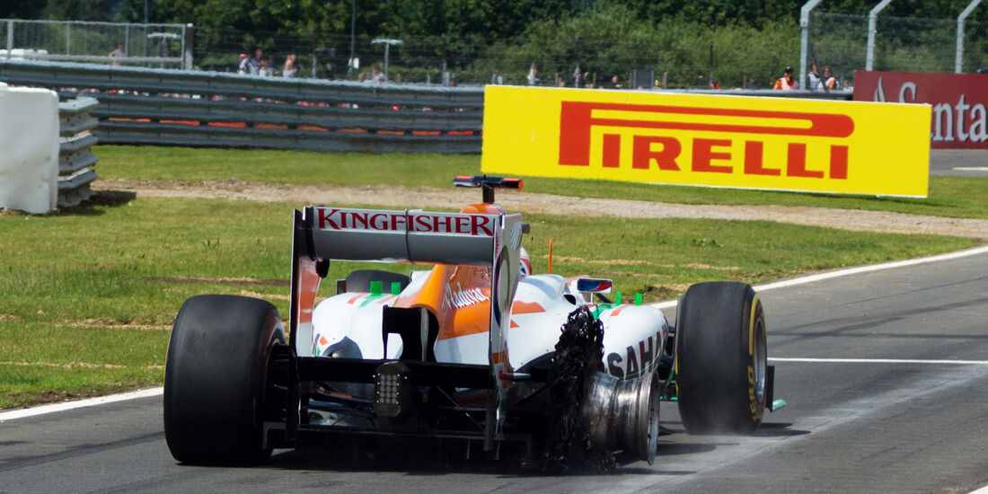 Paul di Resta GP England 2012