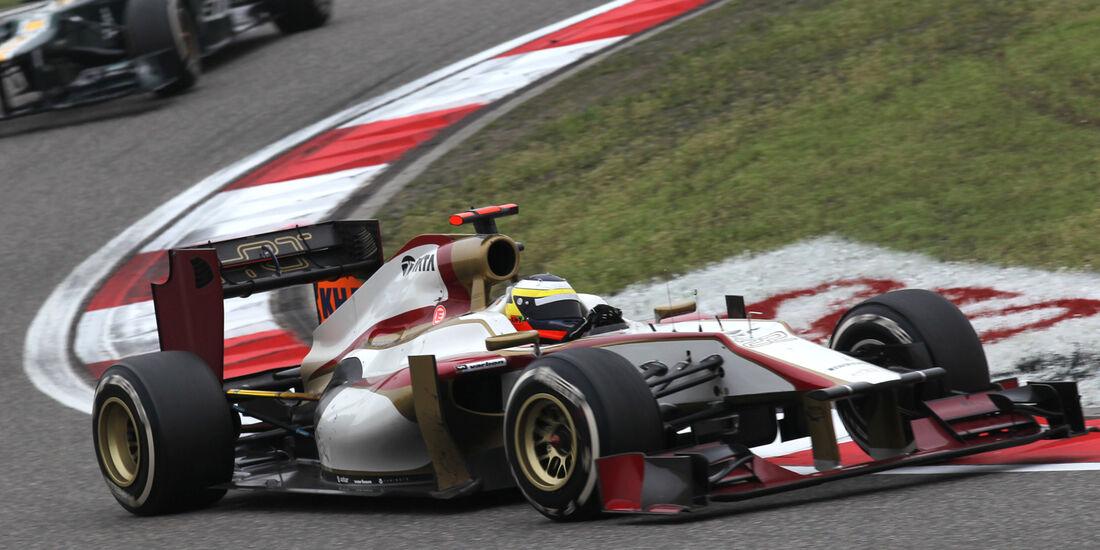 Pedro de la Rosa GP China 2012