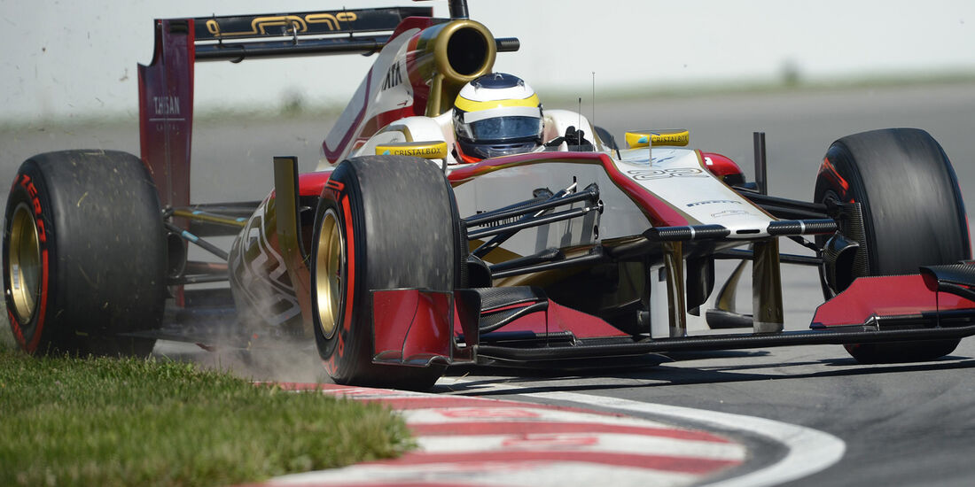 Pedro de la Rosa GP Kanada 2012
