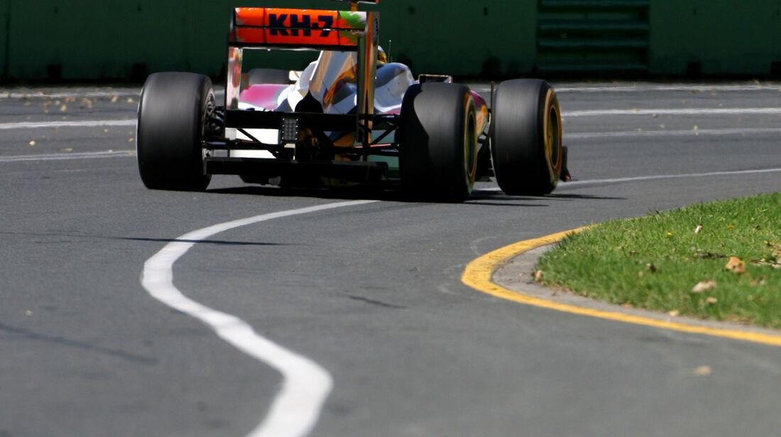 Pedro de la Rosa - HRT - GP Australien - Melbourne - 17. März 2012