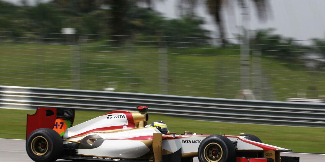 Pedro de la Rosa - HRT - GP Malaysia - Training - 23. März 2012