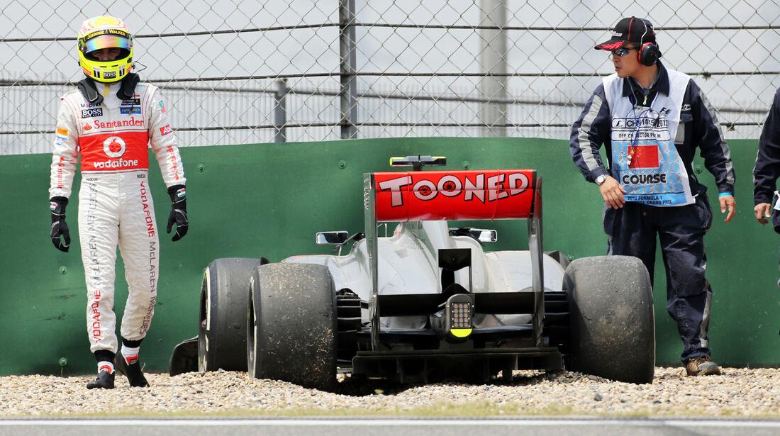 Perez GP China 2013