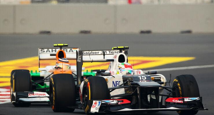 Perez vs. Hülkenberg GP Indien 2012