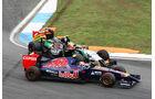 Perez vs. Kvyat - GP Deutschland 2014