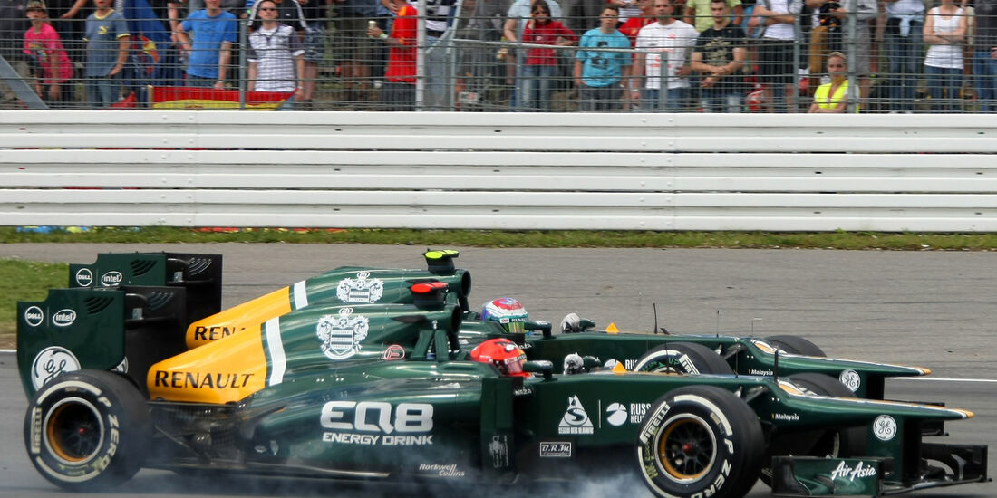 Petrov Kovalainen Caterham GP Deutschland 2012