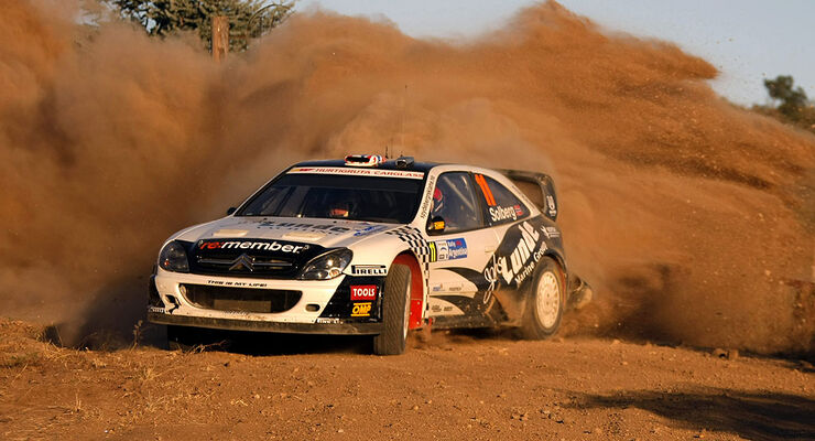 Petter Solberg, Rallye Argentinien 2009, Citroen Xsara WRC