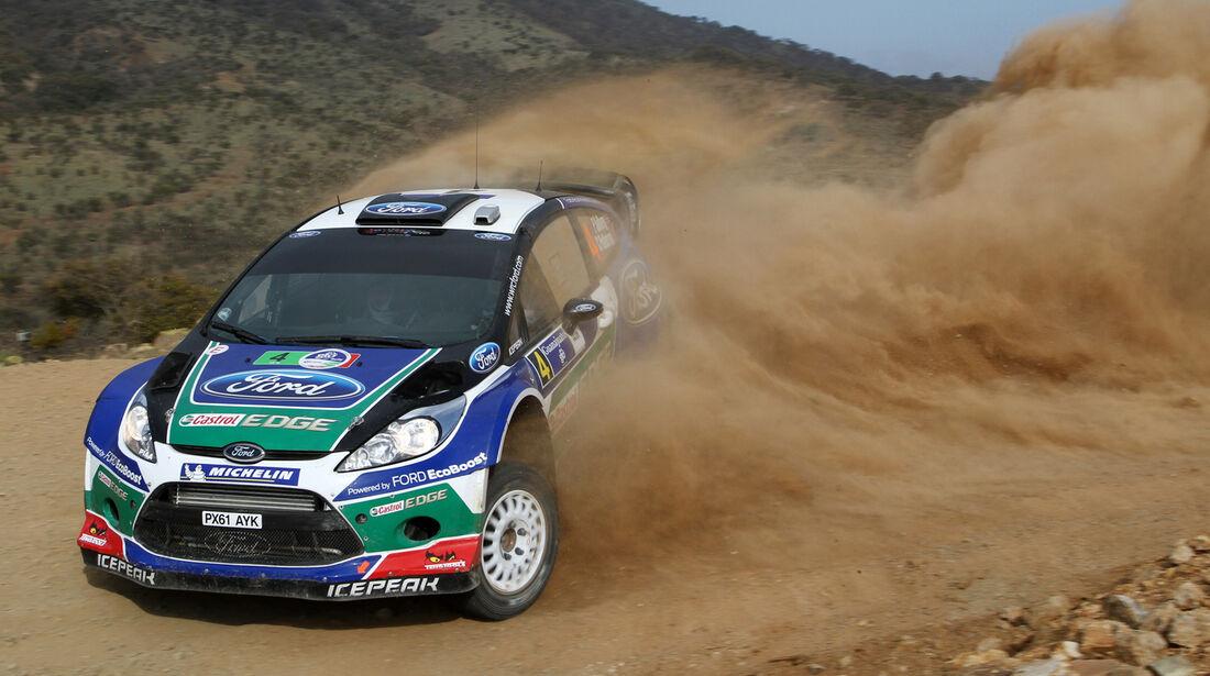 Petter Solberg WRC Rallye Mexiko 2012