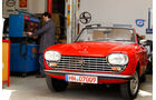 Peugeot 204 Cabriolet, Frontansicht