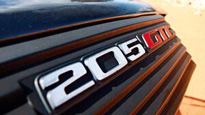 Peugeot 205 GTI, Emblem