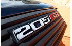 Peugeot 205 GTI, Schriftzug
