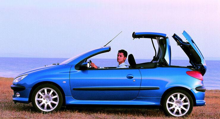 kauftipp peugeot 206 cc: klappdachcabrio ab 3.700 € - auto motor und