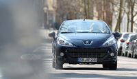 Peugeot 207 CC 155 THP, Frontansicht