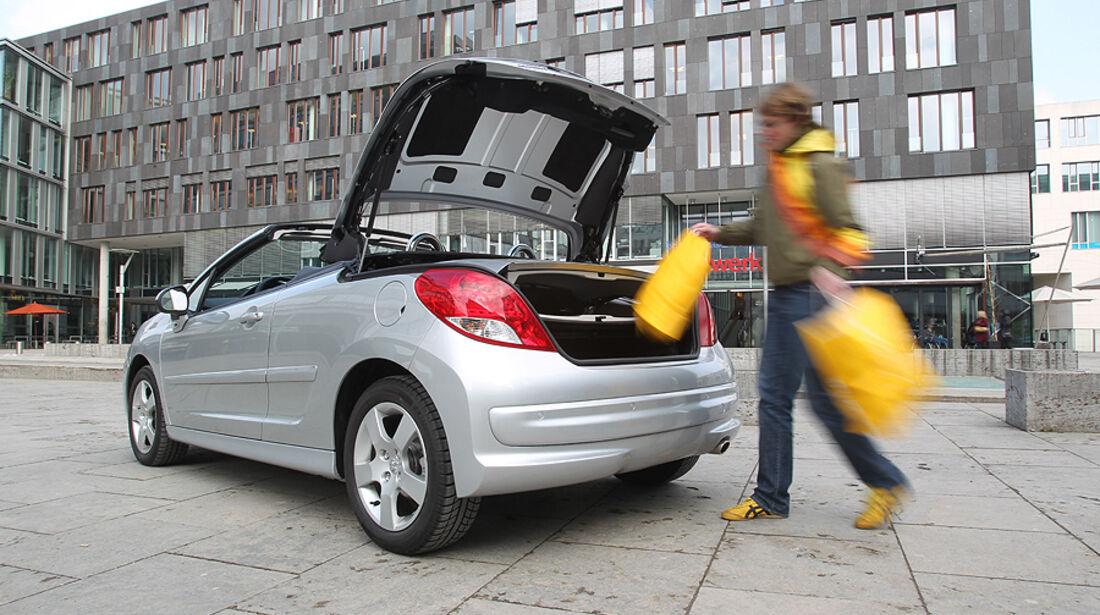 Peugeot 207 CC, Cabrio, Kofferraum