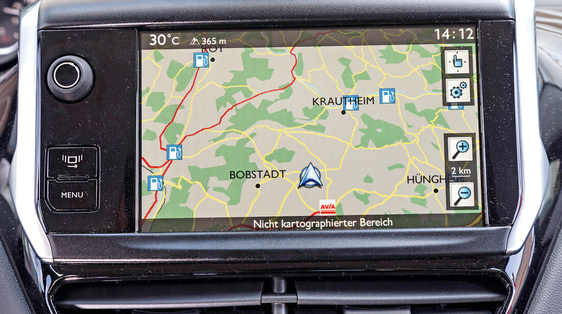 Peugeot 208 82 Vti, Navi