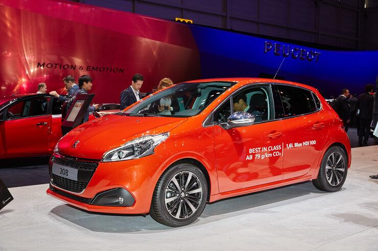 preise peugeot 208: facelift-modell ab 12.400 euro - auto motor und