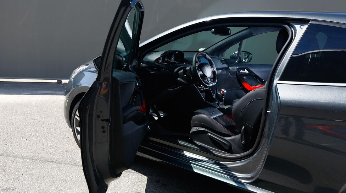 Peugeot 208 GTi, Fahrertür