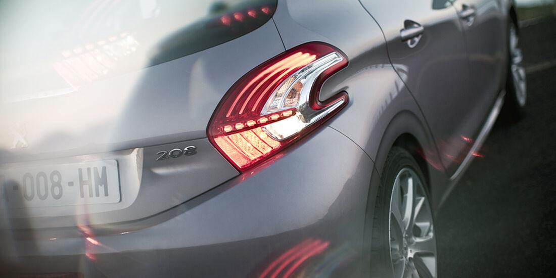 Peugeot 208, Heck
