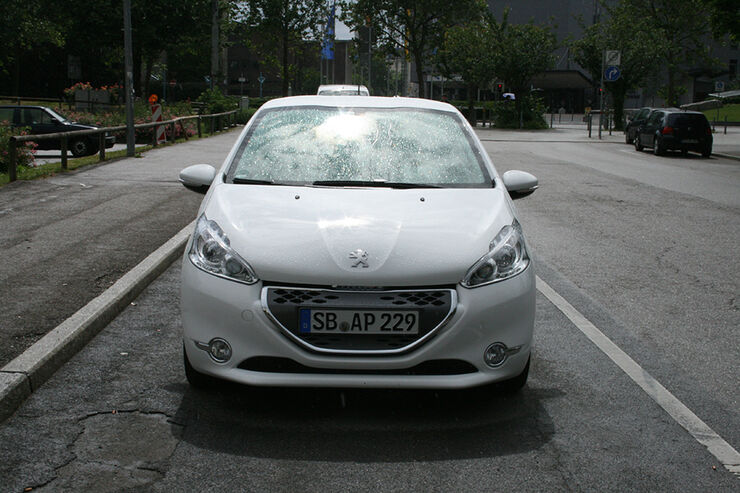Peugeot 208, Innenraum-Check, Front
