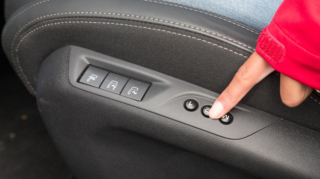 Peugeot 308 125 THP, Fensterheber