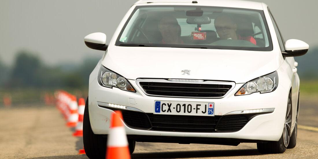 Peugeot 308 125 THP, Seitenansicht