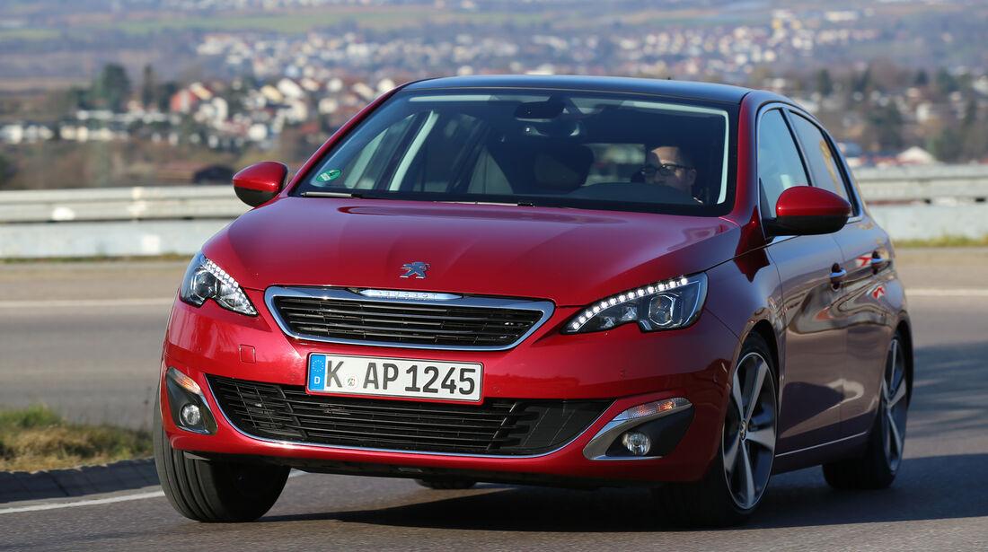 Peugeot 308 BlueHDi 150, Frontansicht