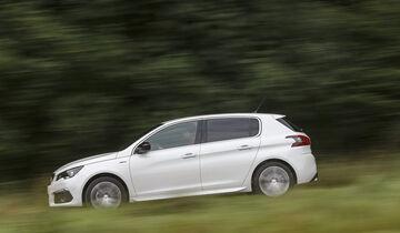 Peugeot 308, Exterieur Seite