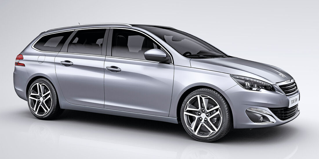 Peugeot 308 SW, Seitenansicht