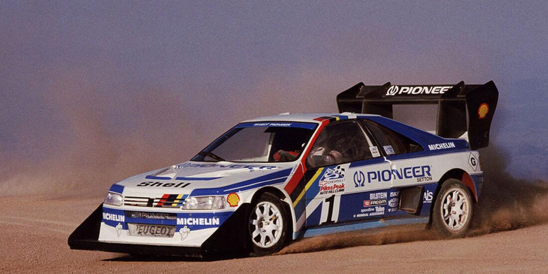 Peugeot 405 Turbo Pikes Peak