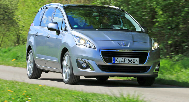 Peugeot 5008 155 THP, Frontansicht