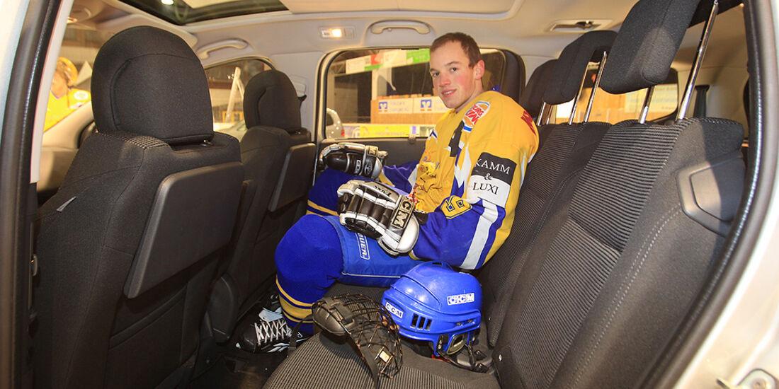 Peugeot 5008, Innenraum, Rücksitze