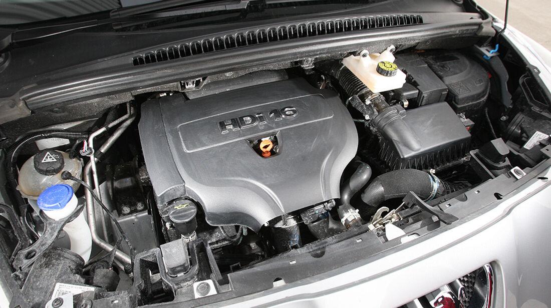 Peugeot 5008, Motor