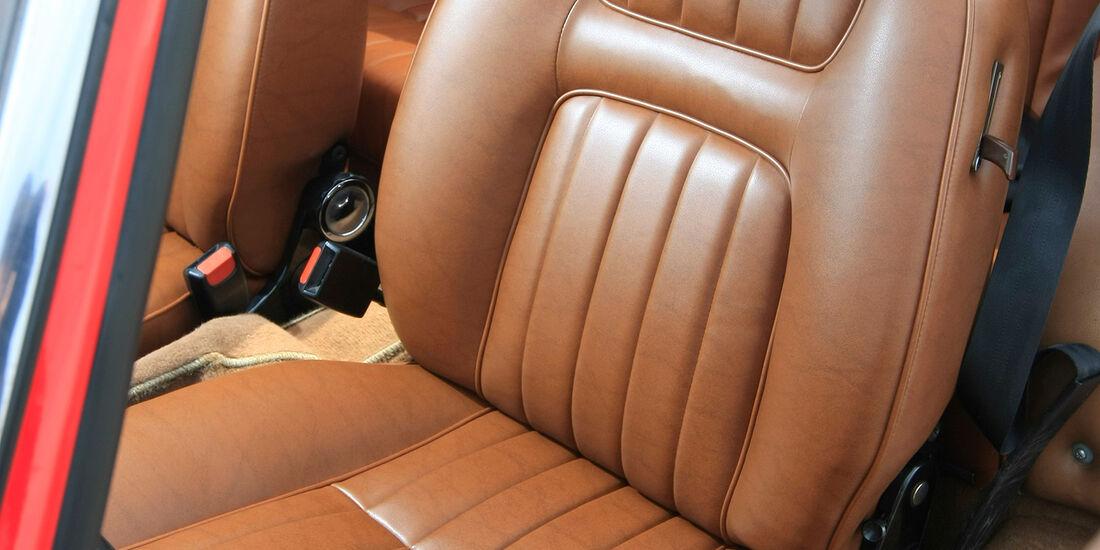 Peugeot 504 Cabriolet Fahrersitz
