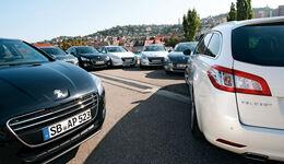 Peugeot 508, mehrere Fahrzeuge