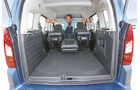 Peugeot Partner Tepee, Ladefläche, Kofferraum
