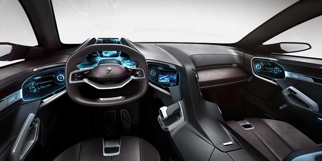 Peugeot SxC, Conceptcar, Cockpit