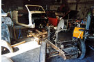 Peugot 402 Eclipse, Garage, Fahrgestell