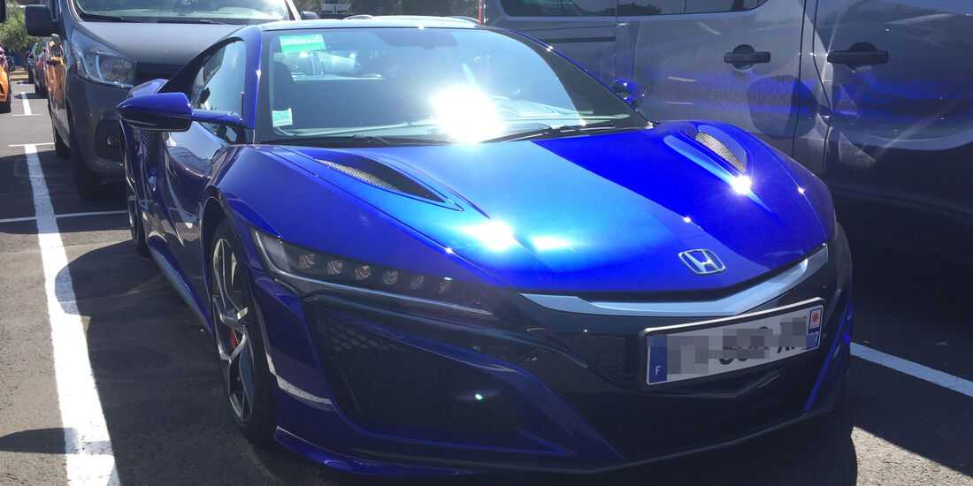 Pierre Gasly - Honda NSX