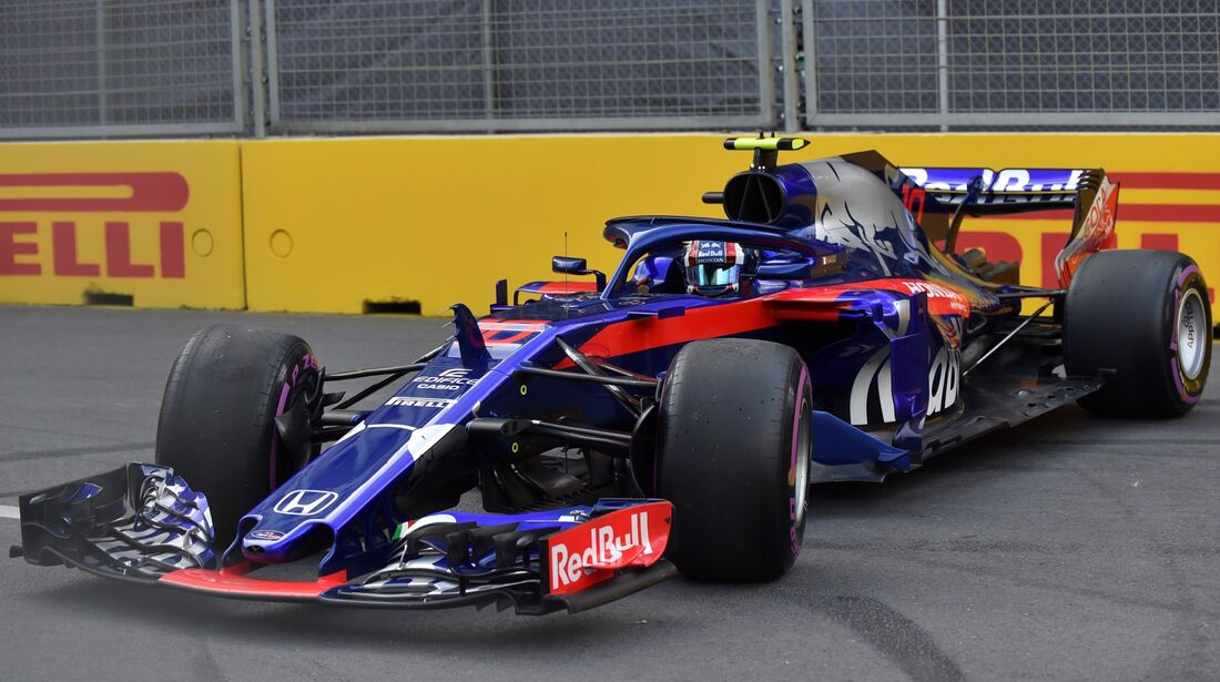 Pierre Gasly - Toro Rosso - Formel 1 - GP Aserbaidschan - 28. April 2018